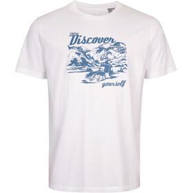 Elkline Discover - T-shirt manches courtes Homme - blanc